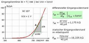 Transistor Basiswiderstand Berechnen : transistor kennlinienfelder und h parameter ~ Themetempest.com Abrechnung