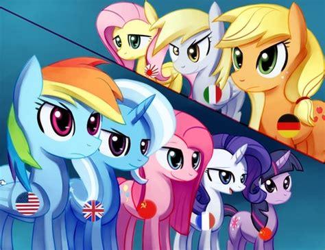 My Pony Anime Wallpaper - my pony freundschaft ist magie bilder mlp anime