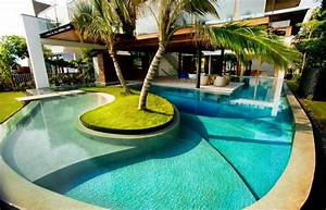 Swimming Pool Dekoration : beautiful outdoor home swimming pool ideas ~ Sanjose-hotels-ca.com Haus und Dekorationen