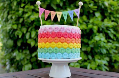 cake decorations uk rainbow button cake decorations goodtoknow