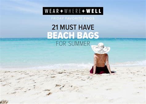 Top 21 Beach Home Decor Examples: 21 Best Beach Bags For Summer