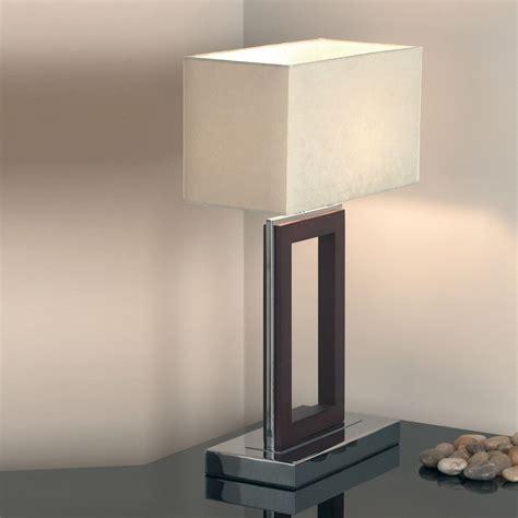 endon 0195 dw 1 light dark wood table l