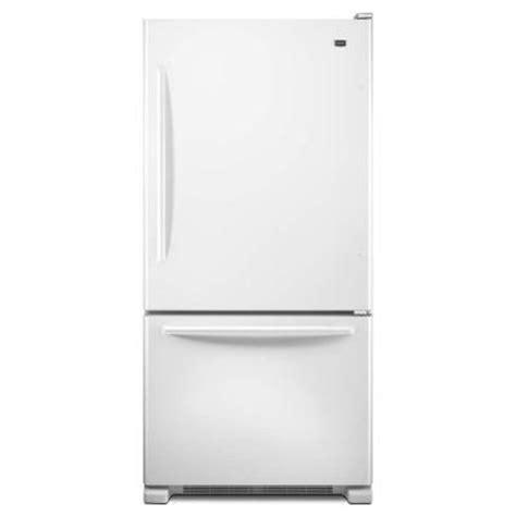 maytag ecoconserve     cu ft bottom freezer