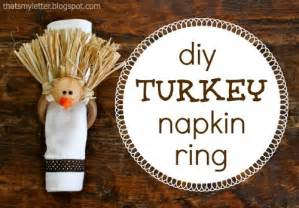diy turkey napkin rings jaime costiglio