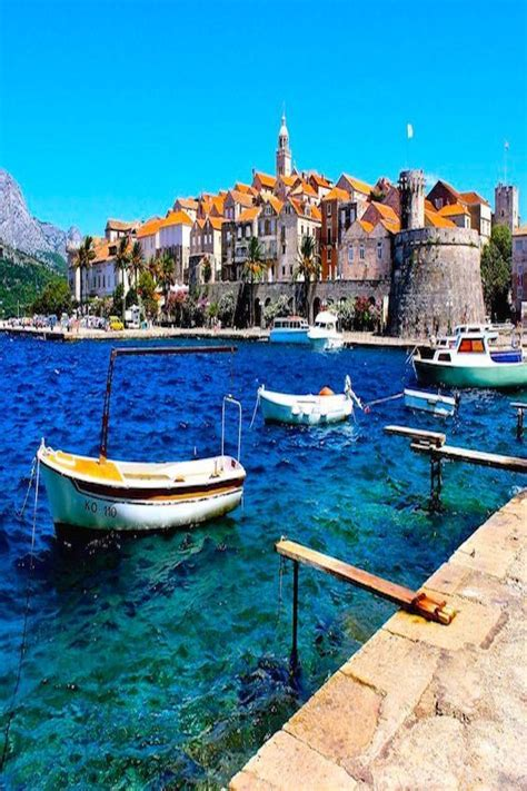 The Medieval Town Of Korčula Croatia By Blueskytraveler