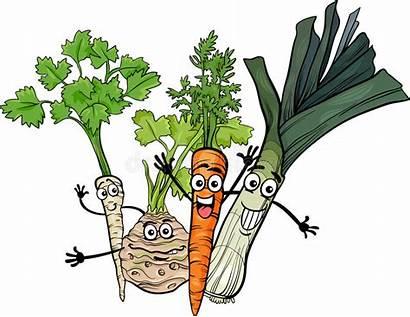 Cartoon Soup Vegetables Illustrazione Fumetto Clipart Verdure