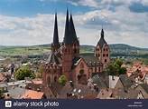 Marienkirche Church, landmark of Gelnhausen, Hesse ...