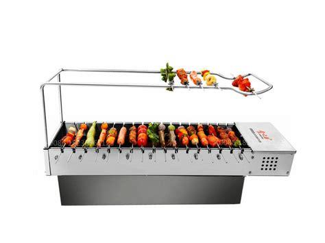 grill bbq korean tabletop smokeless steak equipment kebab machine application