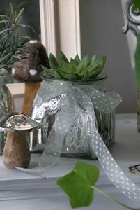 Orchideen übertopf Glas : windlicht bertopf silber zartem band die feenscheune ~ Eleganceandgraceweddings.com Haus und Dekorationen