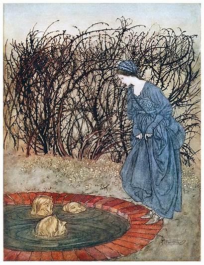 Illustrations Arthur Rackham Fairy Tales Golden Age