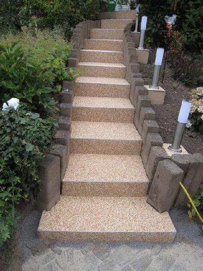 die besten  treppe aussen ideen auf pinterest terassen