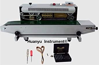 amazoncom automatic horizontal continuous plastic bag band sealing sealer machine fr
