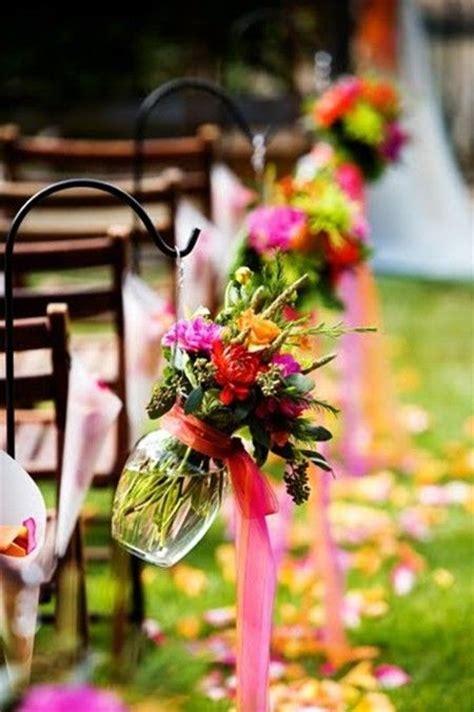 fabulous spring wedding aisle decor ideas weddingomania