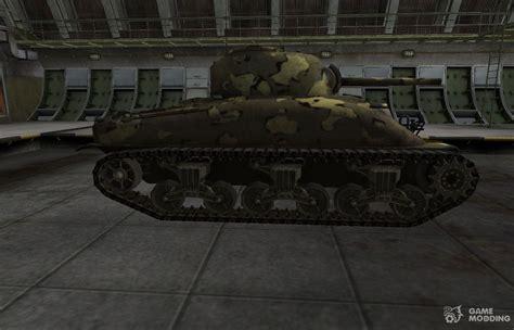 simple skin m4 sherman for world of tanks