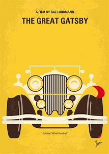 No206 My The Great Gatsby Minimal Movie Poster Digital Art ...