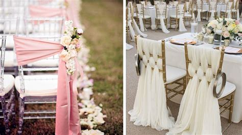 decoration chaise mariage decoration mariage chic