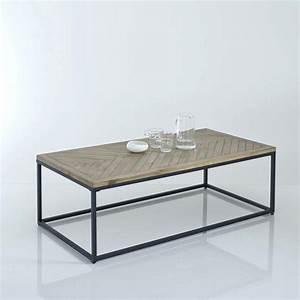 Table De Salon La Redoute : table basse trianon la redoute ~ Voncanada.com Idées de Décoration