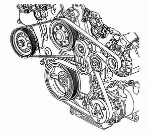 Repair Instructions - Off Vehicle - Drive Belt Removal