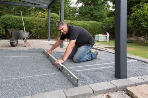 platten legen terrasse terrassenplatten verlegen tipps tricks zum richtig verlegen