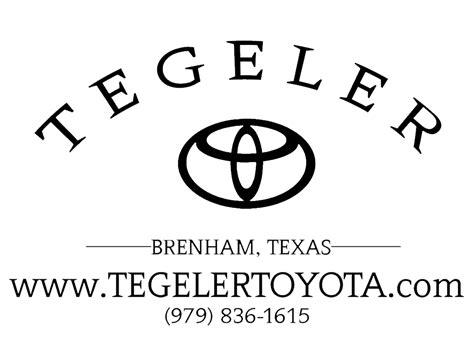 Tegeler Toyota by Tegeler Toyota Brenham Tx Read Consumer Reviews