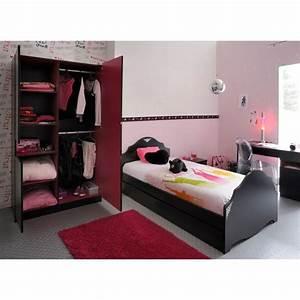 Chambre Complete Fille : chambre ado fille les bons plans de micromonde ~ Teatrodelosmanantiales.com Idées de Décoration