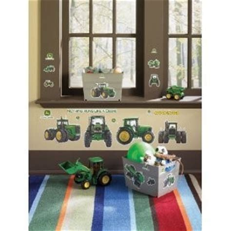 deere room decorating ideas deere big removable wall decals farm tractor boys