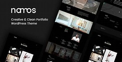 Download Free Namos v1.1.0 - Creative One/Multi-Page Portfolio Theme - Crack Themes