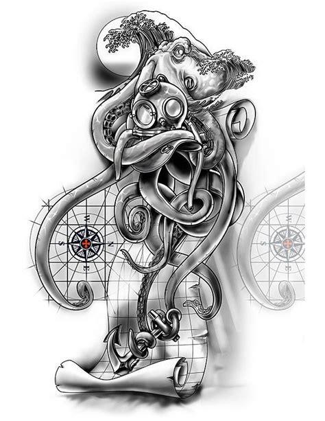 sleeve nautical cover  design sleeve tattoos
