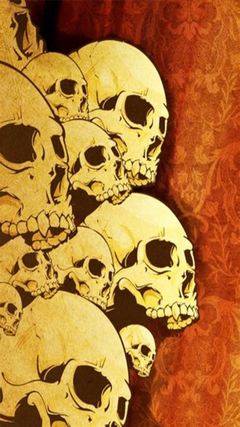 badass wallpapers  skulls wallpapersafari