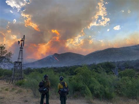 Woodbury Fire Increases To 10,000 Acres, Remains At 0