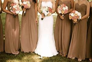 most popular fall wedding colors of 2014 With bridesmaid dresses for fall wedding