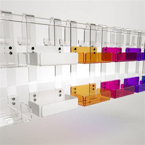 Mensola Doccia by Mensola Doppia Per Box Doccia In Plexiglass Colorato