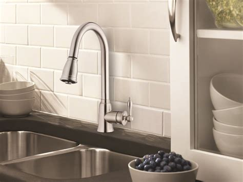 Danze D454510ss Prince Pull Down Kitchen Faucet, Stainless