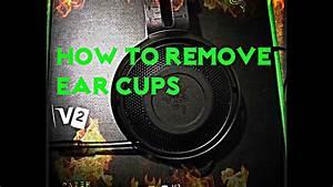 Razer Kraken Pro V2 How To  Remove Earcups