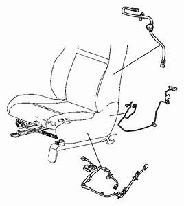 Chrysler Town  U0026 Country Wiring  Power Seat  Seat  Trim