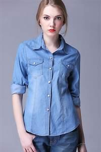 Denim Shirts For Women | Is Shirt