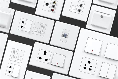 types of electrical switches havells india