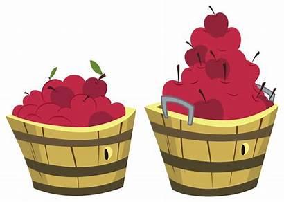 Mlp Apple Bucket Apples Zutheskunk Buckets Deviantart