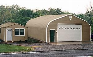 crown steel buildings steel workshops With backyard shop buildings