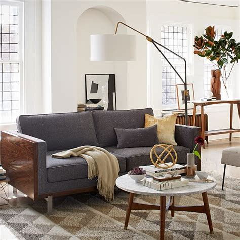 west elm overarching floor l mid century overarching floor l west elm
