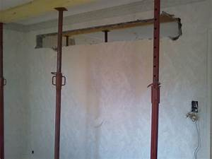 Faire Une Ouverture Dans Un Mur Porteur En Parpaing : les jedric bricolent casser un mur porteur soi m me ~ Dailycaller-alerts.com Idées de Décoration