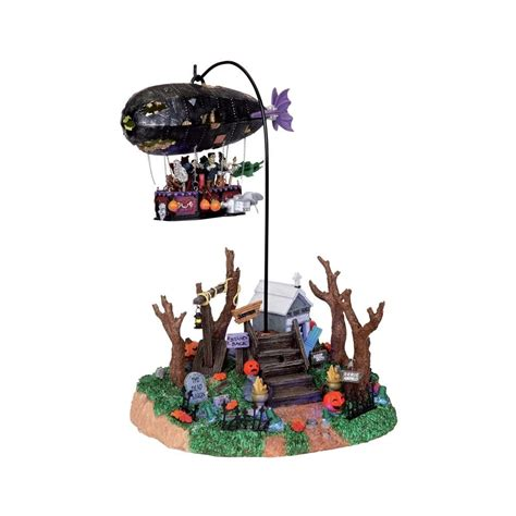city lights collectibles lemax 04174 dreaded zeppelin by lemax