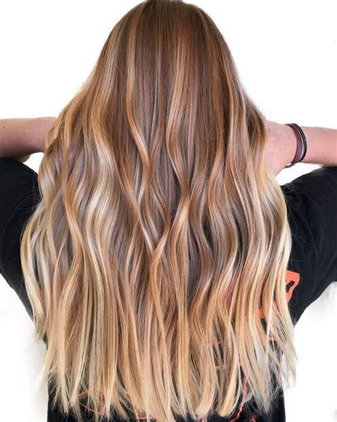 light brown hair colors   blowing