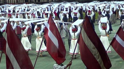 XXVI Vispārējie latviešu Dziesmu un XVI Deju svētki - YouTube