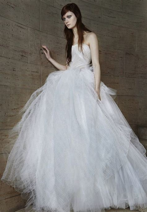 vera wang wedding dress collection  spring