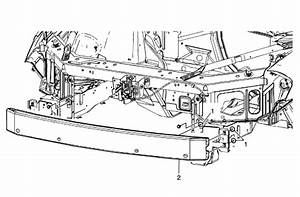 Need Schematic  Exploded View  Of Front Bumper Assy
