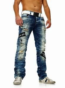 Oft Zerrissene Jeans Herren Schwarz IU36 Startupjobsfa