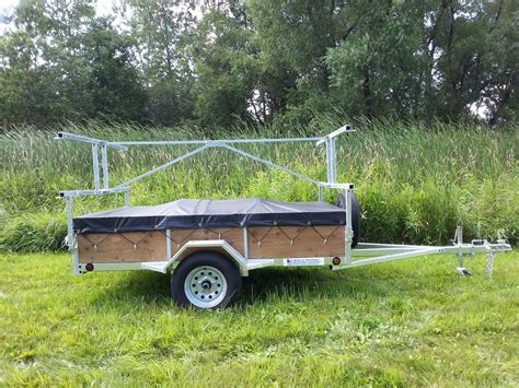 Canoes Trailers by 4 Place Kayak Canoe Utility Trailer For Sale Remackel