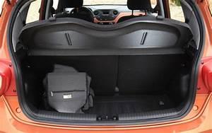 Hyundai I10 Coffre : essai hyundai i10 1 2 87 ch bva pack sensation 2015 l 39 automobile magazine ~ Medecine-chirurgie-esthetiques.com Avis de Voitures