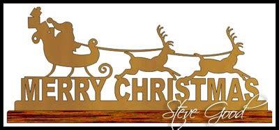 scrollsaw workshop santas sleigh